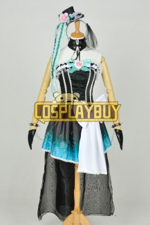 Vocaloid NightBaron Queen Of The Night Cosplay Miku Dress
